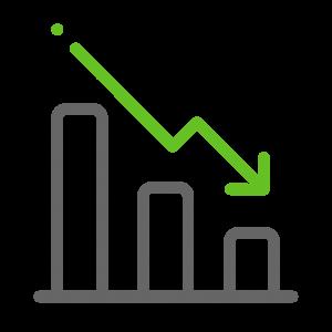 energy procurement saving icon