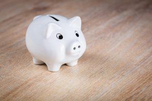 piggy bank representing money saving